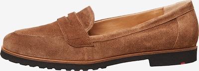 LLOYD Schuhe mit elastischer Gummisohle in braun, Produktansicht