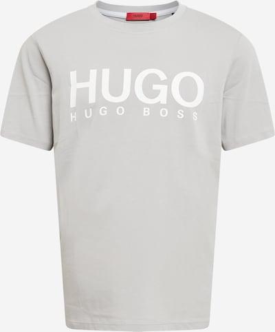Maglietta 'Dolive' HUGO di colore grigio argento / bianco, Visualizzazione prodotti