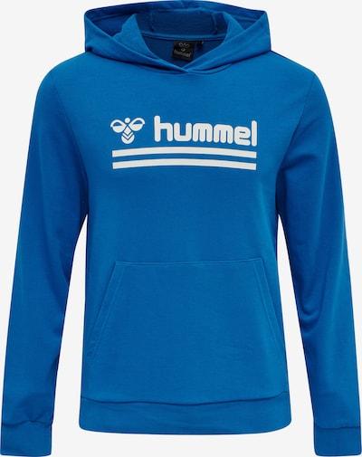 Hummel Hoodie in blau, Produktansicht
