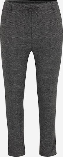 ONLY Carmakoma Pantalon 'GOLDTRASH' en noir chiné / blanc chiné, Vue avec produit