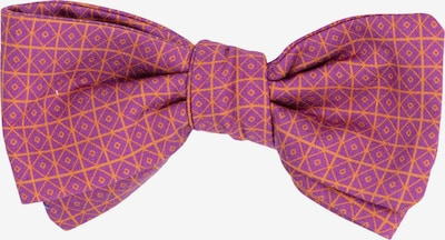 Hans Hermann Fliege 'Einstein' in lila / orange, Produktansicht