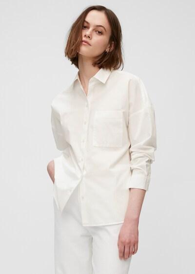 Marc O'Polo DENIM Bluse in weiß, Modelansicht