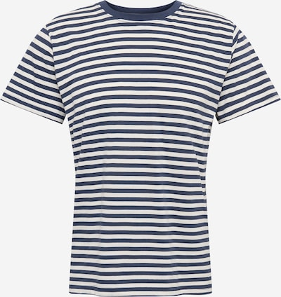 Tricou 'Stockholm' DEDICATED. pe albastru / alb, Vizualizare produs
