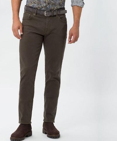 BRAX Jeans 'Chuck' in mokka, Modelansicht