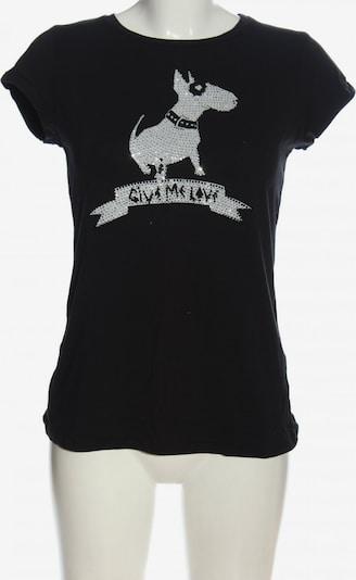 ZARA T-Shirt in L in schwarz / weiß, Produktansicht