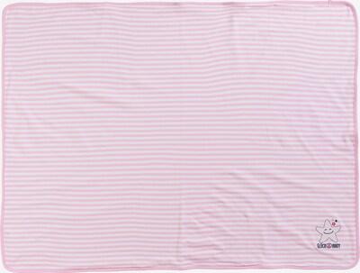 SALT AND PEPPER Kuscheldecke in pink / weiß, Produktansicht