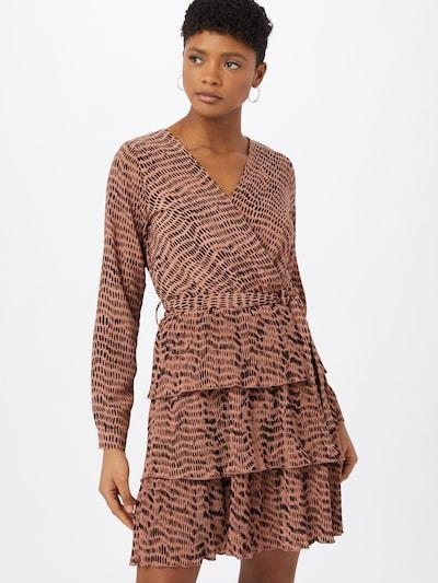 SISTERS POINT Kleid 'NEKKO' in rosé / schwarz, Modelansicht
