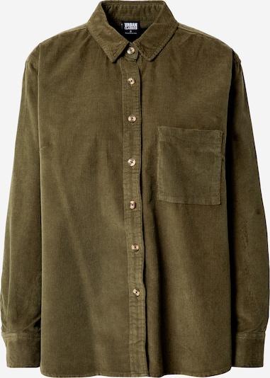 Urban Classics Bluse in oliv, Produktansicht