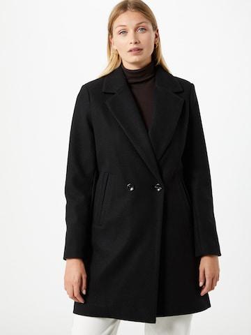 Cappotto di mezza stagione 'Jannet' di ICHI in nero