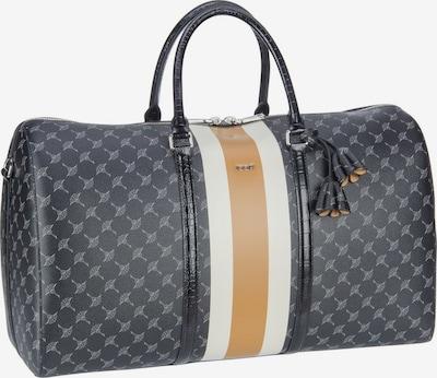 JOOP! Reisetasche 'Due Aurora' in cognac / schwarz / weiß, Produktansicht