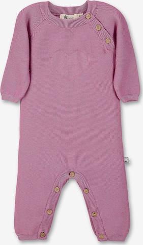 STERNTALER Dungarees in Purple