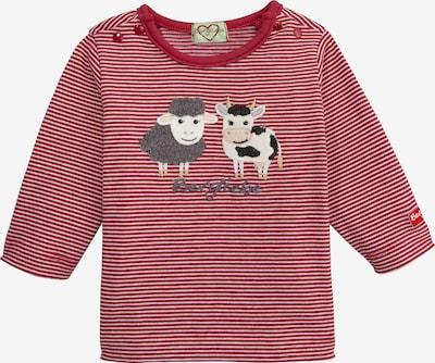 BONDI Shirt in grau / rot / schwarz / weiß, Produktansicht
