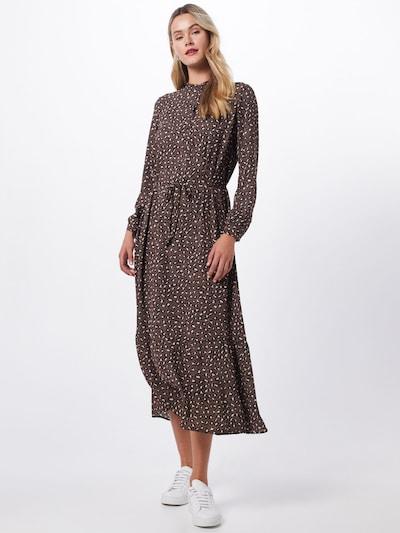JACQUELINE de YONG Kleid 'JDYRICCI' in braun / weiß, Modelansicht