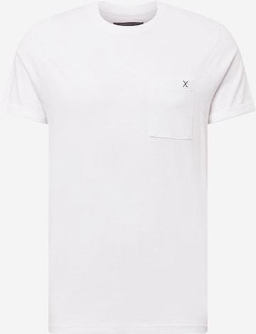 Clean Cut Copenhagen T-shirt 'Kolding' i vit