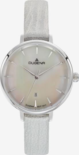 DUGENA Uhr in silber / weiß, Produktansicht