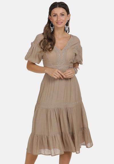 usha FESTIVAL Kleid in dunkelbeige, Modelansicht