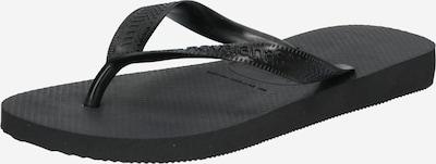 HAVAIANAS Séparateur d'orteils en noir, Vue avec produit