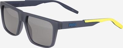 PUMA Sunčane naočale u žuta / tamo siva, Pregled proizvoda