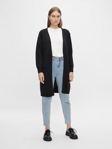 OBJECT Knit Cardigan 'Nete' in Black