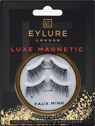 Eylure Artificial Eyelashes 'Opulent Accent' in Black, Item view
