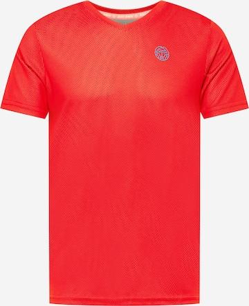 BIDI BADU Funktsionaalne särk, värv punane