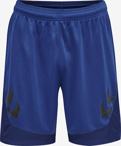 Hummel Sporthose in blau / schwarz, Produktansicht