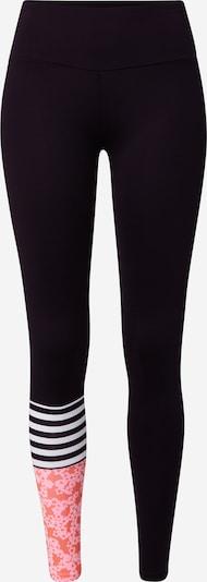 Hey Honey Leggings in lachs / rosa / schwarz / weiß, Produktansicht