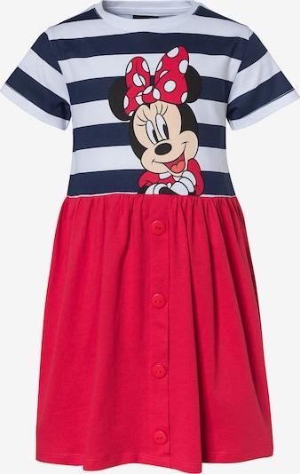 Disney Minnie Mouse Kleid in blau / mischfarben / cranberry / weiß, Produktansicht
