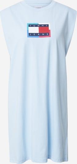 Tommy Jeans Jurk in de kleur Navy / Lichtblauw / Vuurrood / Wit, Productweergave