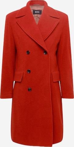 BOSS Kevad-sügismantel 'Hyde', värv punane