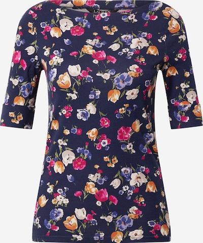 Lauren Ralph Lauren Tričko 'JUDY-ELBOW' - modrá / námornícka modrá / oranžová / ružová / biela, Produkt