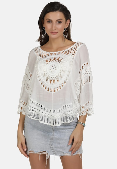 usha FESTIVAL Tunika in weiß, Modelansicht