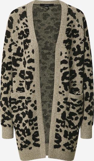 VERO MODA Strickjacke 'Emma' in grau / schwarz, Produktansicht