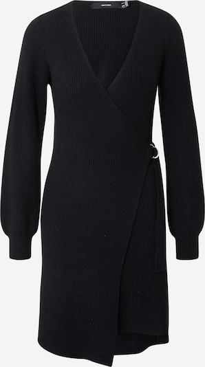 VERO MODA Knitted dress in Black, Item view
