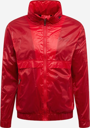 FILA Sport-Jacken  'AUGUST wind jacket' in rot / weiß, Produktansicht