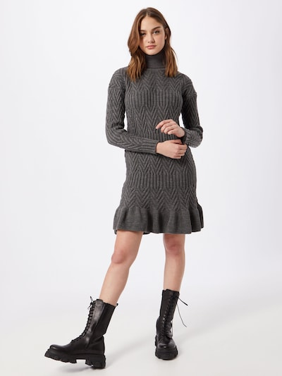 Trendyol Knit dress in Anthracite, View model