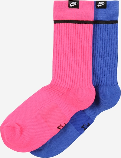 Nike Sportswear Ponožky - indigo / ružová / čierna, Produkt