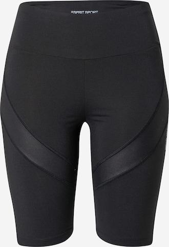 ESPRIT SPORT Sportsbukser i svart