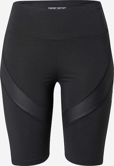 Pantaloni sport ESPRIT SPORT pe negru, Vizualizare produs
