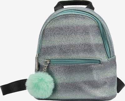 myMo KIDS Rucksack in mint / pflaume, Produktansicht