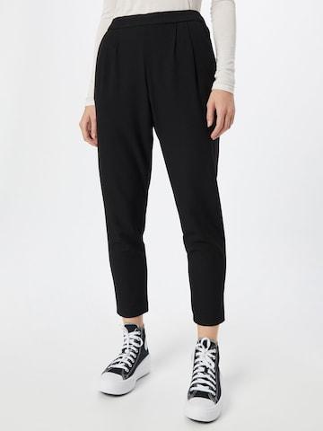 VILA Pleat-front trousers 'VITITTI' in Black