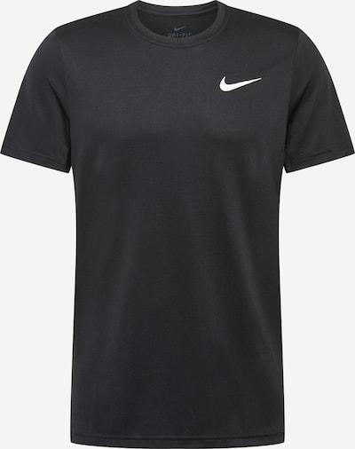 NIKE Camiseta funcional en negro / blanco, Vista del producto