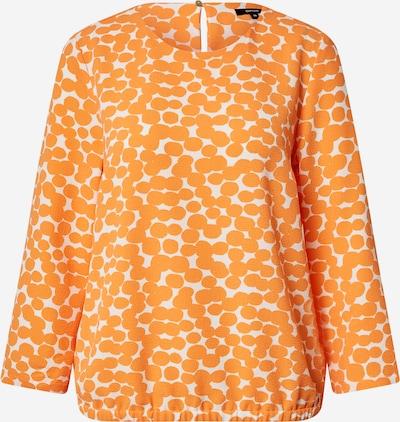 OPUS Blouse 'Ferusa' in de kleur Sinaasappel / Wit, Productweergave