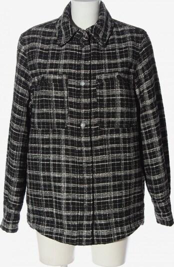 H&M Wintermantel in S in schwarz / weiß, Produktansicht