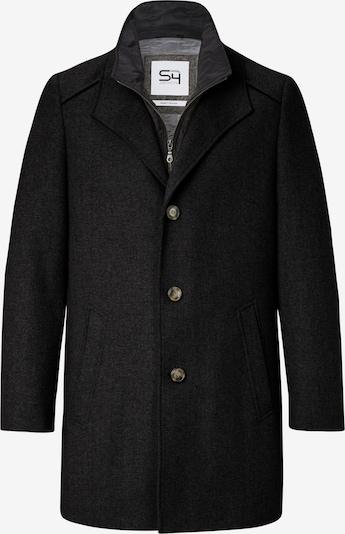 S4 Jackets Mantel in schwarz, Produktansicht