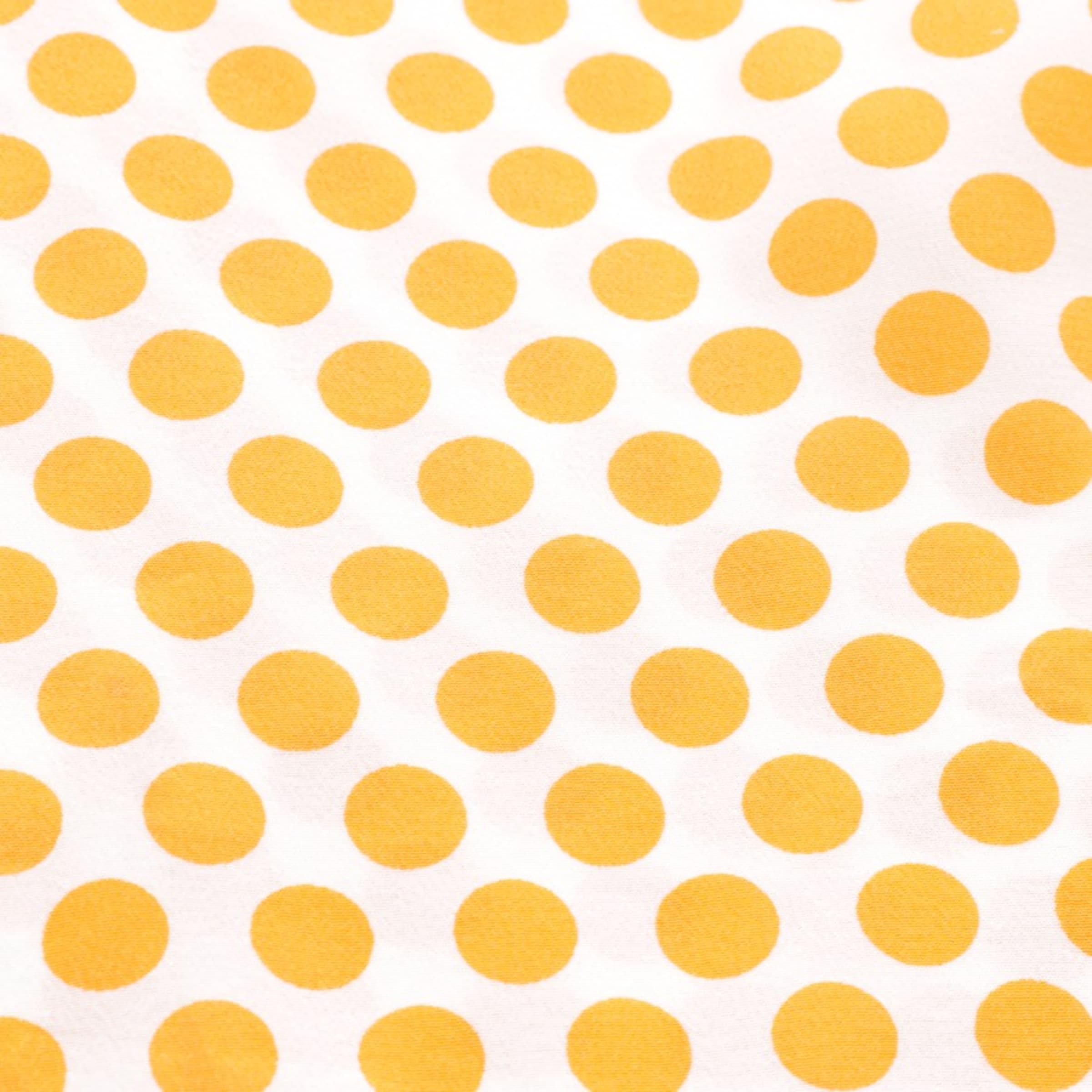 Schumacher Seidentop in L in orange / weiß