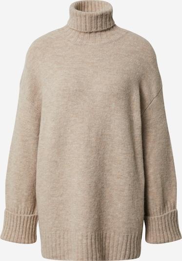 EDITED Pullover 'Lou' in beigemeliert, Produktansicht