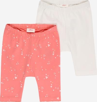 s.Oliver Leggings in Light pink / White, Item view
