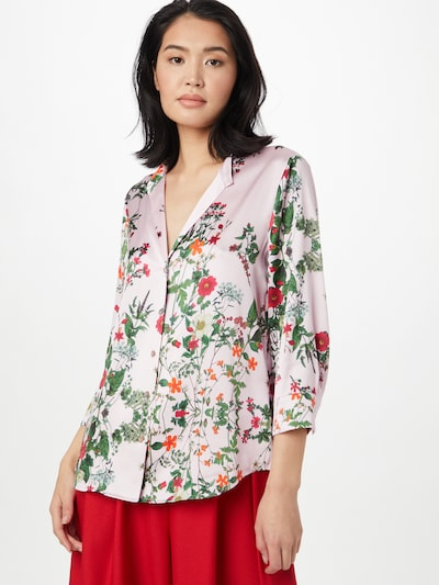 STEFFEN SCHRAUT Blouse 'Sylvie' in de kleur Gemengde kleuren / Rosa, Modelweergave