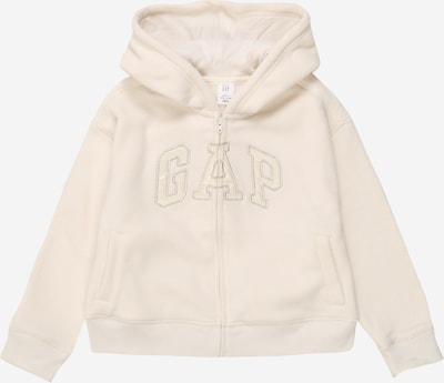 GAP Sweatjacke in beige, Produktansicht